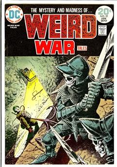 Weird War Tales #21