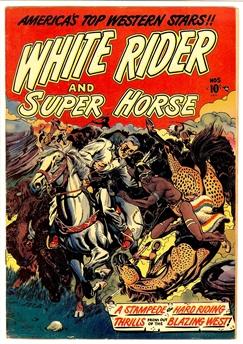 White Rider and Super Horse #5