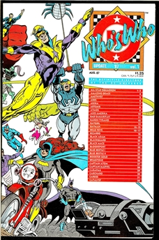 Who's Who: Update '87 #1