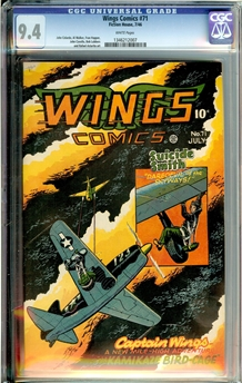 Wings Comics #71