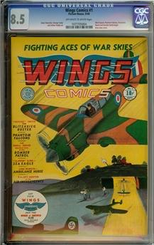 Wings Comics #1