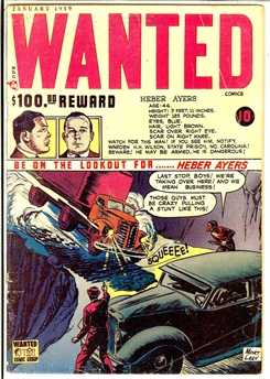 Wanted Comics #17