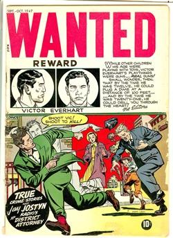 Wanted Comics #9