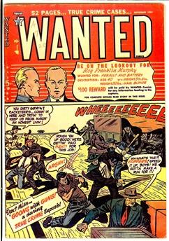 Wanted Comics #41