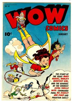 Wow Comics #40