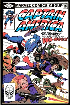 Captain America #273