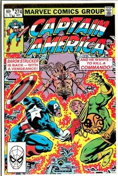 Captain America #274