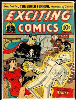 Exciting Comics #25