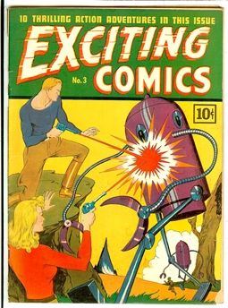 Exciting Comics #3