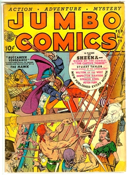 Jumbo Comics #12