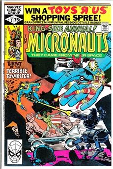 Micronauts Annual #2