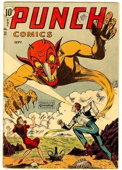 Punch Comics #21