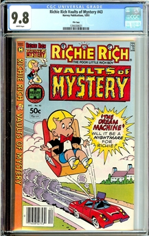 Richie Rich Vaults of Mystery #43