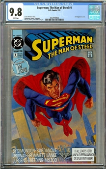 Superman: Man of Steel #1