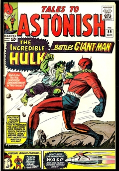 Tales to Astonish #59