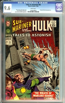 Tales to Astonish #86