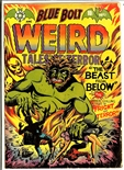 Blue Bolt Weird Tales #112