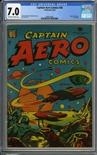Captain Aero Comics #26