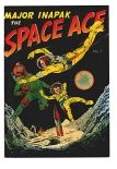 Major Inapak the Space Ace #1