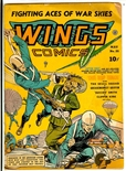 Wings Comics #21