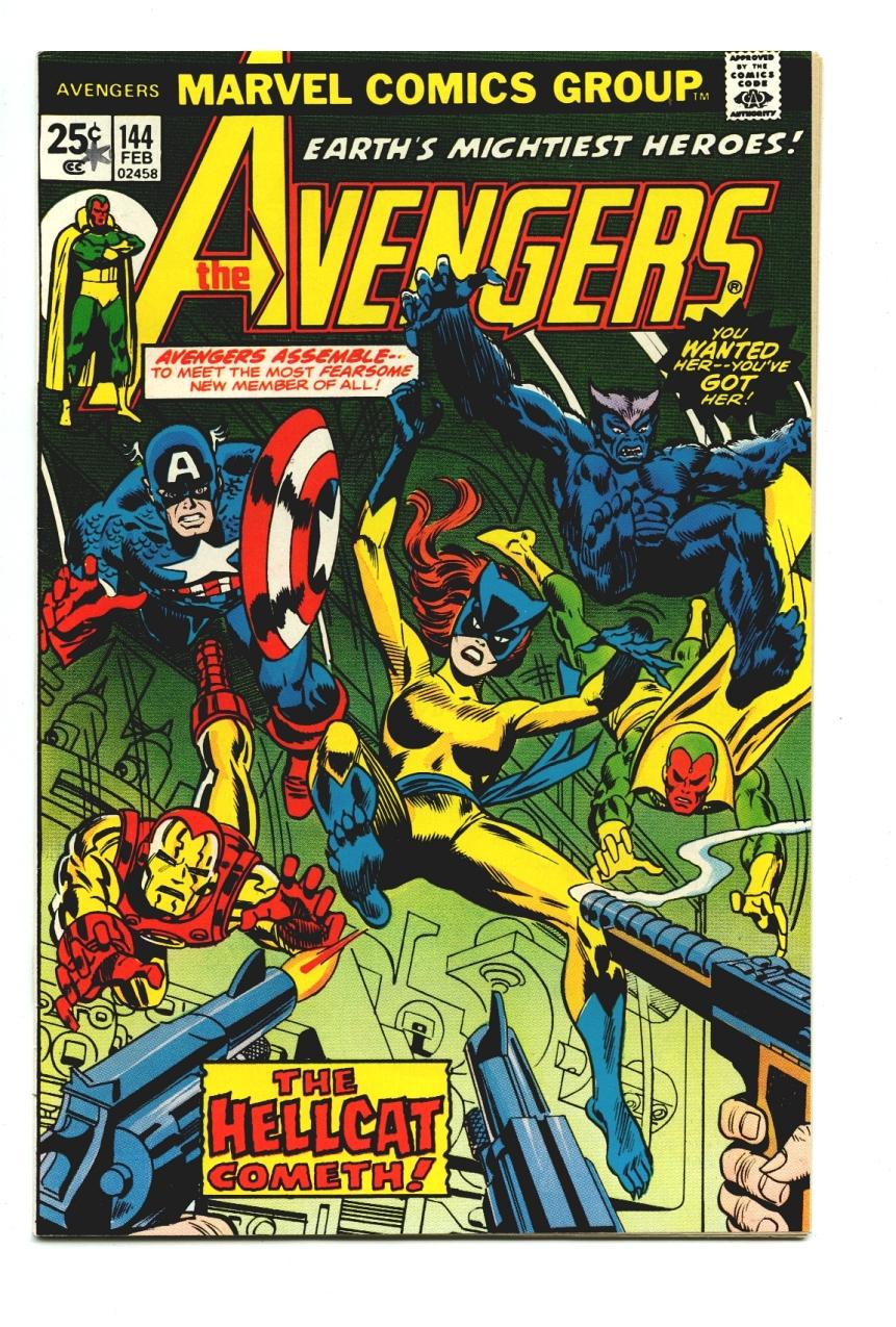 Patsy Walker/Hellcat - Avengers #144