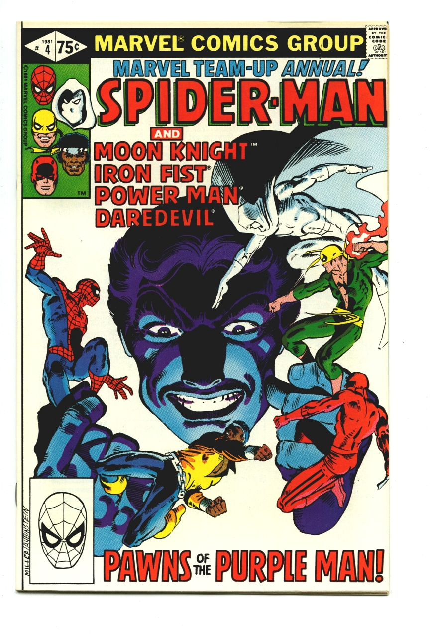 Marvel Team-Up Annual #4 - The Purple Man